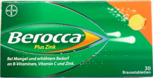 Berocca plus Zink Brause Tabletten  30ST