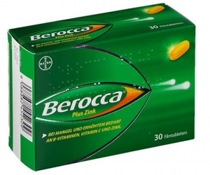 Berocca plus Zink Filmtabletten 30ST
