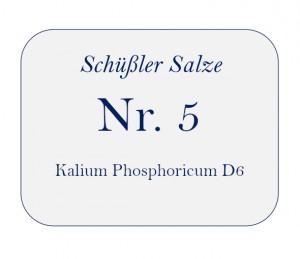 Nr.5 Kalium Phosphoricum D6 100g