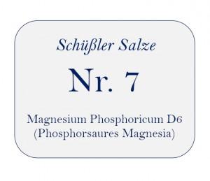 Nr.7 Magnesium Phosphoricum D6 100g