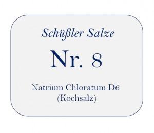Nr.8 Natrium Chloratum D6 100g