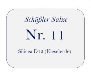 Nr.11 Silicea D12 100g
