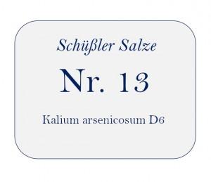 Nr.13 Kalium arsenicosum D6 100g