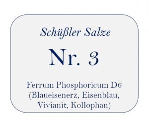 Nr.3 Ferrum Phosphoricum D12 250G