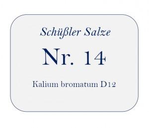 Nr.14 Kalium bromatum D12 250g