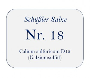 Nr.18 Calcium sulfuratum D12 250g