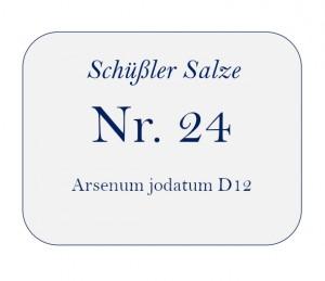 Nr.24 Arsenum jodatum D12 250g