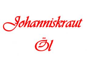 Johanniskrautöl 50 ML