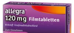 allegra® 120mg Filmtabletten 10 St