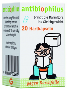 Antibiophilus 20 Kaps