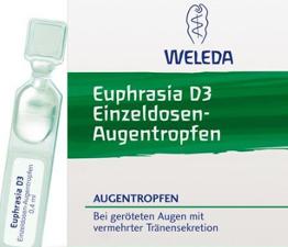 Euphrasia Augentropfen  Einzeln 10St.