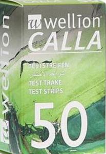 Teststreifen Wellion Calla  med 50st