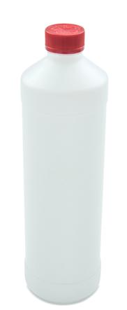 Kunsstoff Flasche 1000 ML +Schraubverschlüsse 5ST