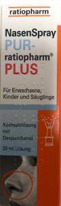 Ratiosoft Nasenspray + Dexpanthenol 0,1%, 10ml