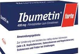 Ibumetin Forte  Filmtabl. 400 mg 40St.