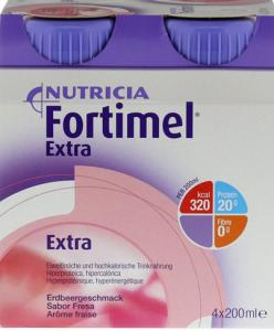 Fortimel Extra Erdber 4x200ML