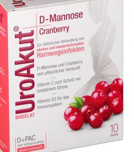 Uro Akut D-Mannose+Cranberry  Granulat 10St