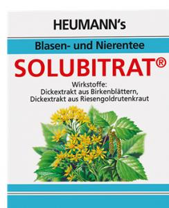 Solubitrat Tee - Heumann`sBlasen-Nierentee 30g