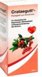 Crataegutt -Weißdorn-Tropfen 250ML