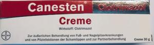 CANESTEN CREME 1% 30G Clotrimazol