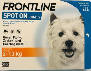 FRONTLINE SPOT ON KLEIN HUND 2-10KG