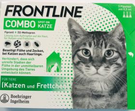 Combo beim was kostet tierarzt frontline TA oder