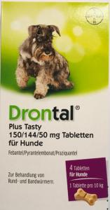 Drontal Hund Plus Tasty Tab 4St
