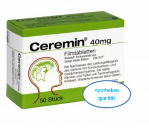Ceremin FilmTabl 40mg 50St