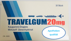 Travel Gum  Kaugumi Dragee 20MG 10St