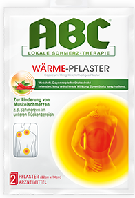 ABC Warmepflaster 11MG 2St