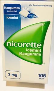 NICORETTE® Kaugummi Icemint 2MG 105St