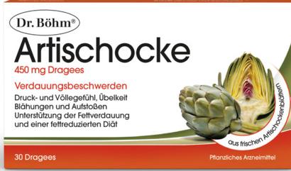 Artischocke 450 mg Dr. Böhm  30St